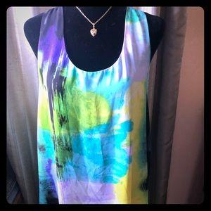 VINTAGE watercolor dress